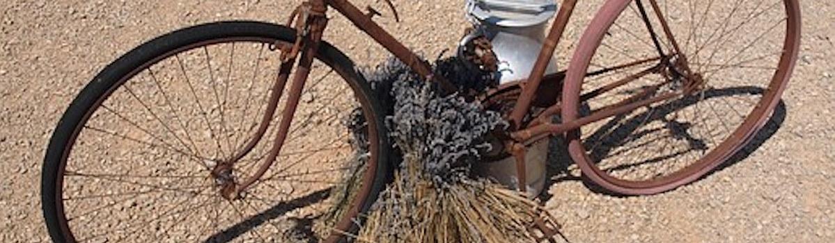 Provence à vélo - Départ de 3 circuits à la Cigalière